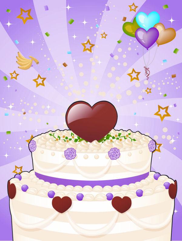 Kuchen mit Foto
