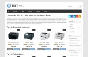 Laserdruckertest