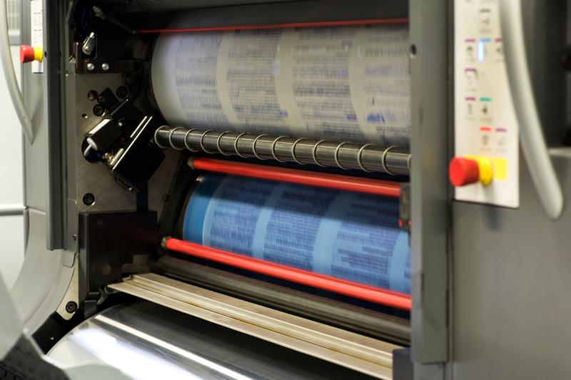 Rotationsdruckmaschine